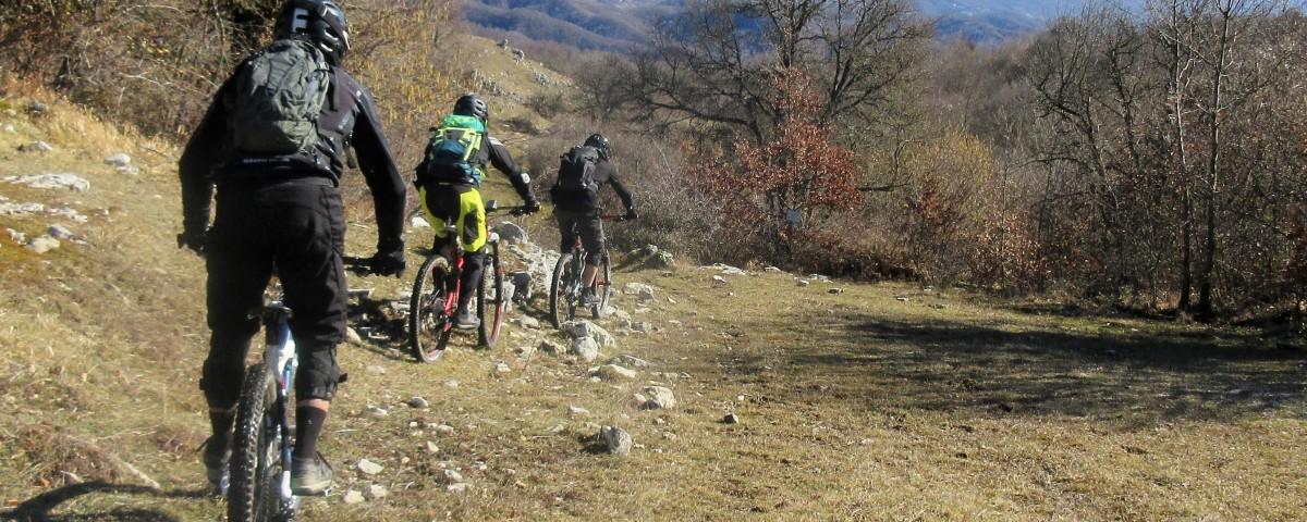 Bikers a Tufo